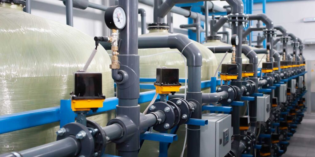 Water purification for sterile services